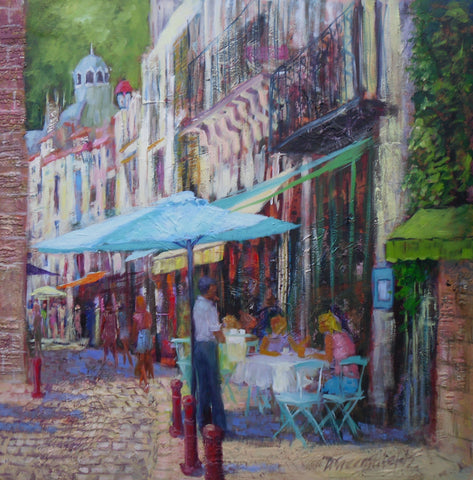 Sitting In The Shade Original by Doreen Greenshields *SOLD*