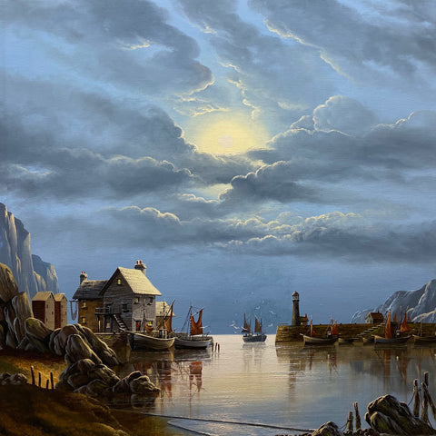 Safe Harbour Original by David James *SOLD*