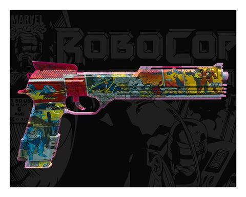 Auto 9 Weapon (Robocop) by David Williamson