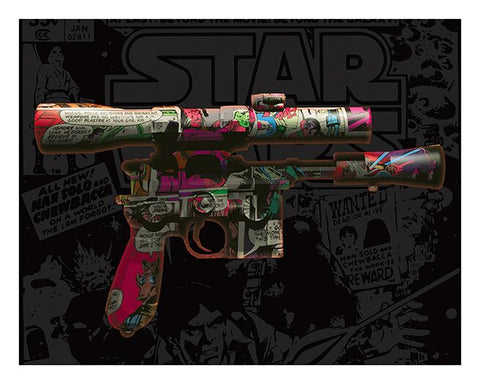 DL-44 Weapon (Star Wars) by David Williamson
