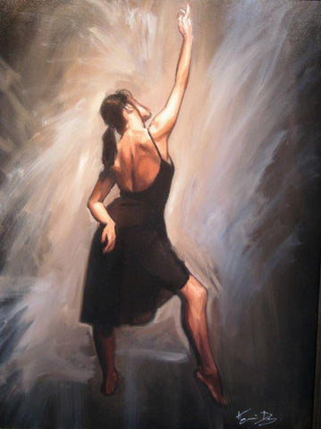Dance Study Original by Kevin Day *SOLD*