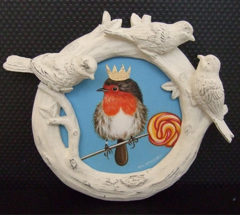 King Robin Original by Marie Louise Wrightson *NEW*