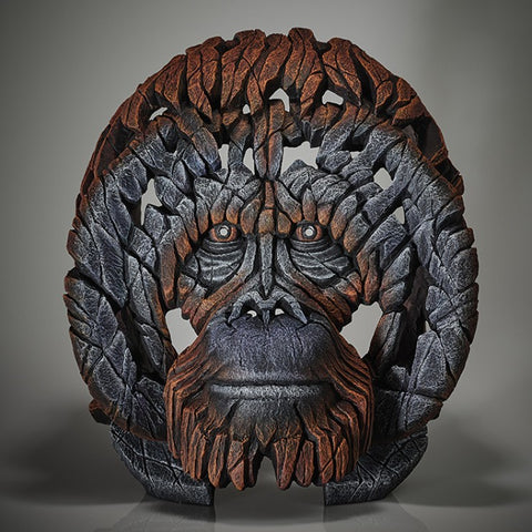 Orangutan Bust by Edge Sculpture *NEW*