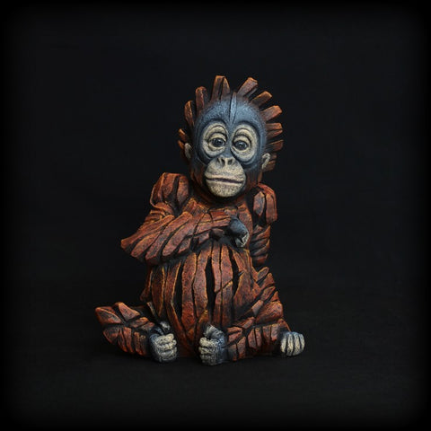 Baby Orangutan by Edge Sculpture-Sculpture-EDGE-Sculpture-Matt-Buckley-artist-The Acorn Gallery