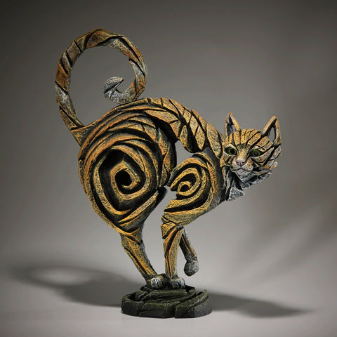 Cat - Ginger by Edge Sculpture