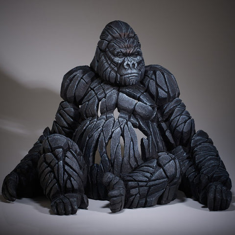 Gorilla by Edge Sculpture-Sculpture-EDGE-Sculpture-Matt-Buckley-artist-The Acorn Gallery