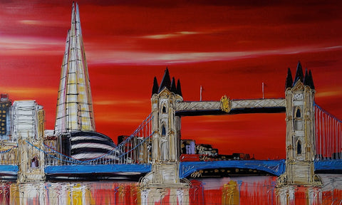 Tower Bridge Original by Edward Waite *SOLD*