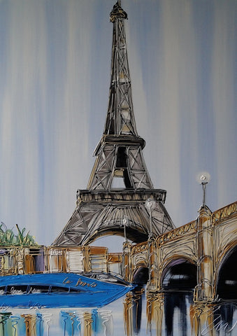 Le Paris Original by Edward Waite *SOLD*