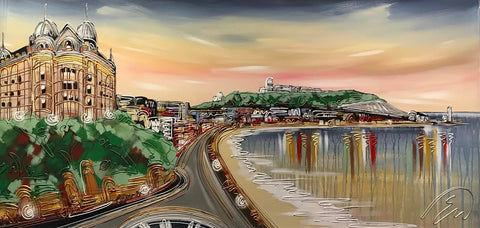 Scarborough Bay Original by Edward Waite *SOLD*