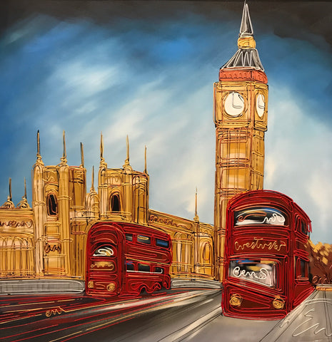 Sights Of London Original by Edward Waite *SOLD*