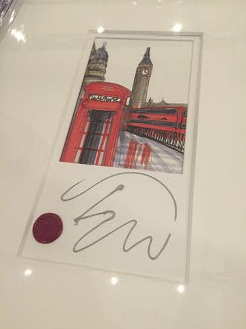 Westminster Original Sketch by Edward Waite *SOLD*