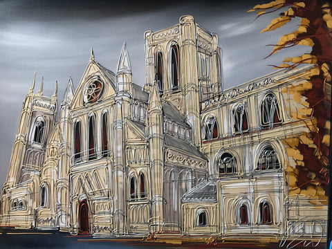 York Minster Original by Edward Waite *SOLD*