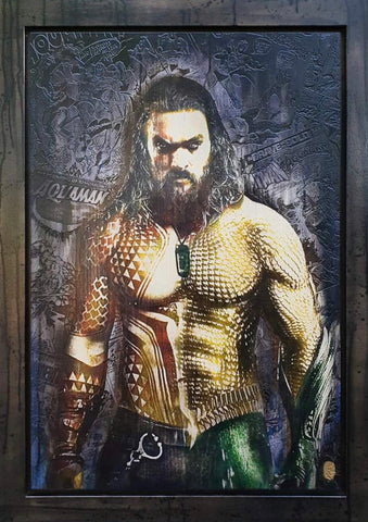 Aquaman (Jason Momoa) by Rob Bishop