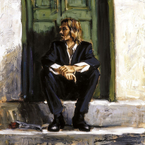 Waiting for the Romance to Come Back I by Fabian Perez