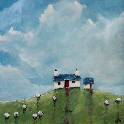 Summer Retreat Original by Geoff Beckett *SOLD*