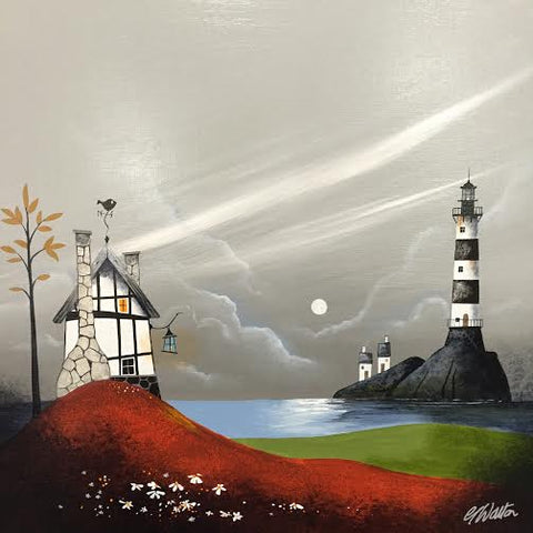 Keep The Home Fires Burning Original by Gary Walton *SOLD*
