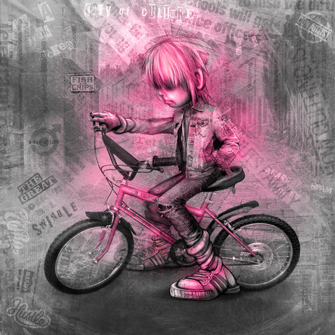 The Grifter - Punk Pink by Craig Everett
