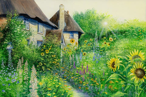 Sunflower Cottages by Heather Howe *NEW*