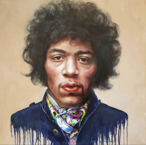 Jimi Hendrix Original by Ieva Baranovska *NEW*