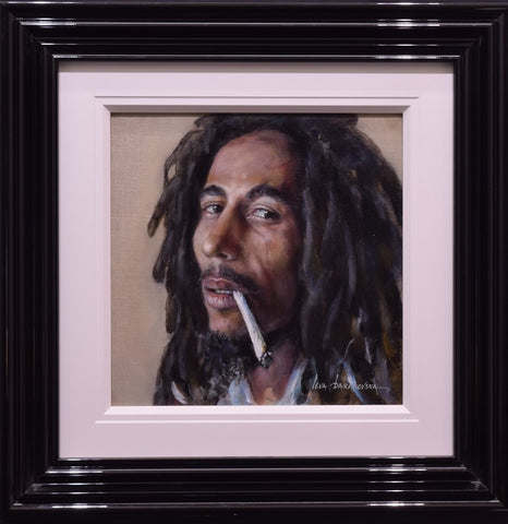 Bob Marley Original by Ieva Baranovska *SOLD*