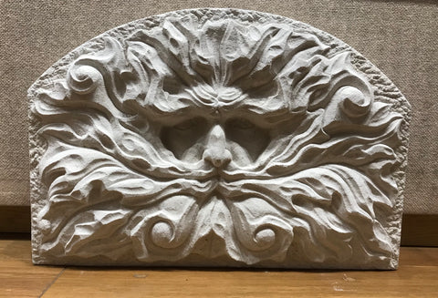 Green Man (Portland Limestone) Original by Joseph Hayton *NEW*