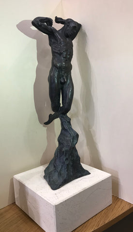 Icarus Bronze Sculpture by Joseph Hayton