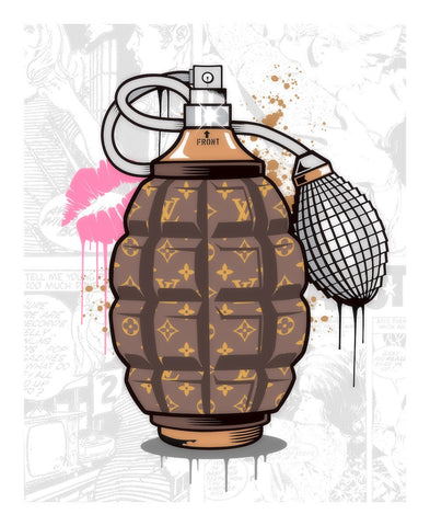 Designer Grenade (Louis Vuitton Perfume) by  JJ Adams