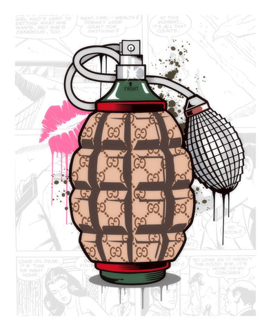 Designer Grenade (Gucci Perfume) by  JJ Adams *NEW*