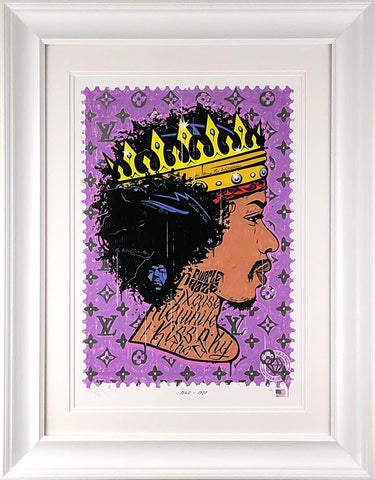 Purple Haze (Jimi Hendrix) Music Icon Stamp by JJ Adams *NEW*