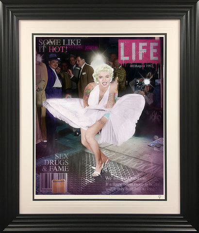 Some Like It Hot (Marilyn Monroe - Colour) by JJ Adams *NEW*