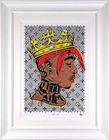 Thug Life (Tu Pac) Music Icon Stamp by JJ Adams *NEW*