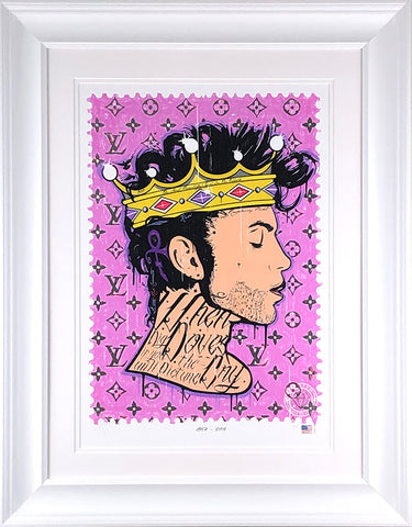 Where Doves Cry (Prince) Music Icon Stamp by JJ Adams *NEW*