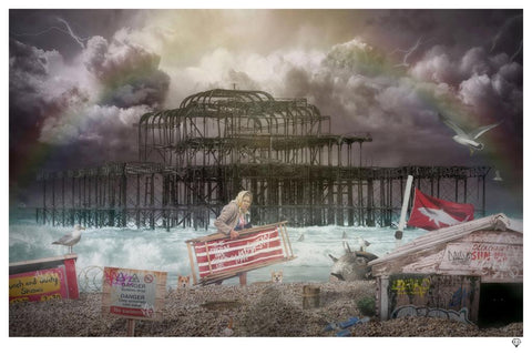 West Pier (Rule Britannia) by JJ Adams