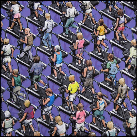Exercising by James Milroy