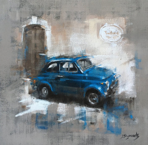 Cinquecento In Tuscany Original by Joanne Symonds