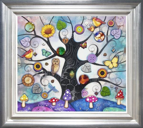 Tree Of Charms - Blue by Kerry Darlington *RARE*
