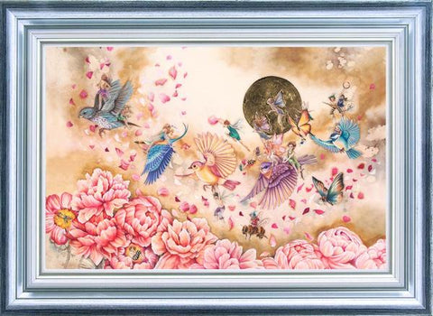 Flying Home by Kerry Darlington-Limited Edition Print-The Acorn Gallery-Kerry-Darlington-artist-The Acorn Gallery