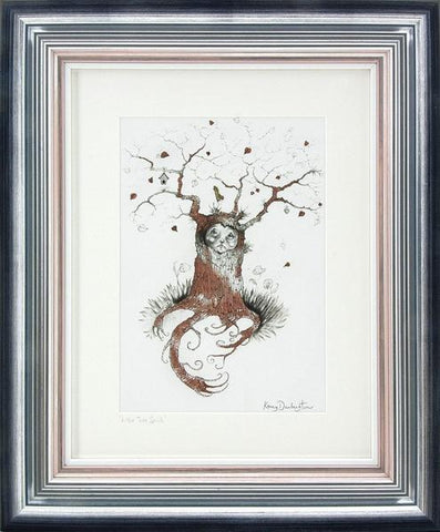 Little Tree Spirit by Kerry Darlington *RARE*-Limited Edition Print-The Acorn Gallery-Kerry-Darlington-artist-The Acorn Gallery