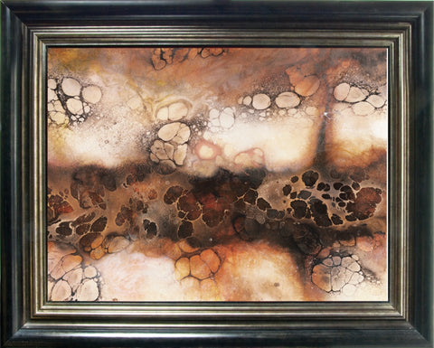 Moon Valley Abstract by Kerry Darlington *RARE*-Limited Edition Print-The Acorn Gallery-Kerry-Darlington-artist-The Acorn Gallery