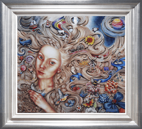 Rapunzel by Kerry Darlington *RARE*-Limited Edition Print-The Acorn Gallery-Kerry-Darlington-artist-The Acorn Gallery