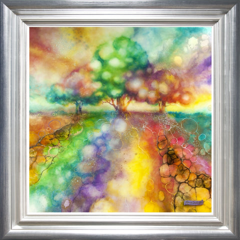 Summer Light by Kerry Darlington *RARE*-Limited Edition Print-The Acorn Gallery-Kerry-Darlington-artist-The Acorn Gallery