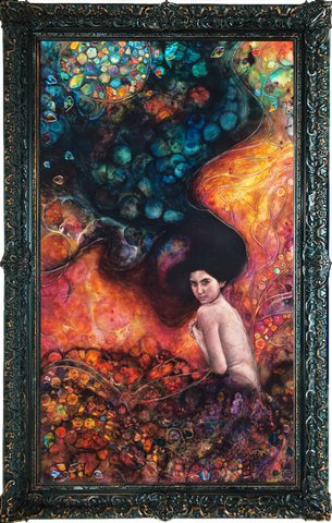 Undine by Kerry Darlington *RARE*-Limited Edition Print-The Acorn Gallery-Kerry-Darlington-artist-The Acorn Gallery