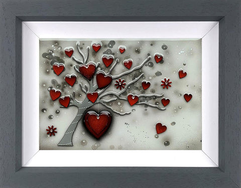 Love Grows Boutique Original by Kealey Farmer *NEW*-Original Art-The Acorn Gallery-Kealey-Farmer-artist-The Acorn Gallery