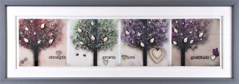Strength, Growth, Love, Gratitude by Kealey Farmer *NEW*-Limited Edition Print-The Acorn Gallery-Kealey-Farmer-artist-The Acorn Gallery
