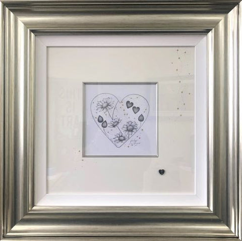 Daisy Chain Original Sketch by Kealey Farmer *NEW*