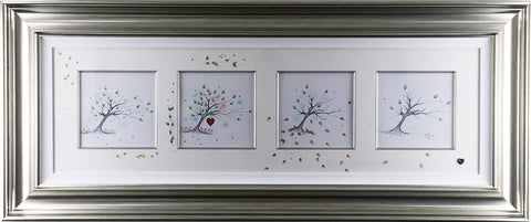 Four Seasons Original Sketch by Kealey Farmer *SOLD*