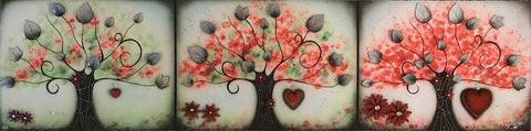 Love Blossoms by Kealey Farmer-Limited Edition Print-The Acorn Gallery-Kealey-Farmer-artist-The Acorn Gallery