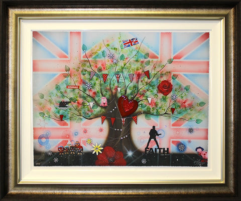 Memories Of A Brit Kid by Kealey Farmer-Limited Edition Print-The Acorn Gallery-Kealey-Farmer-artist-The Acorn Gallery