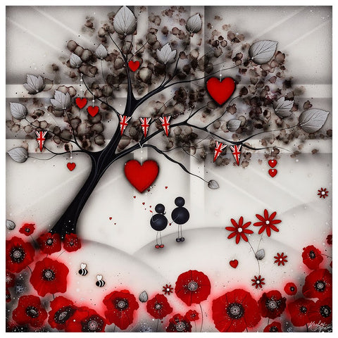 Our Remembrance Tree by Kealey Farmer-Limited Edition Print-The Acorn Gallery-Kealey-Farmer-artist-The Acorn Gallery