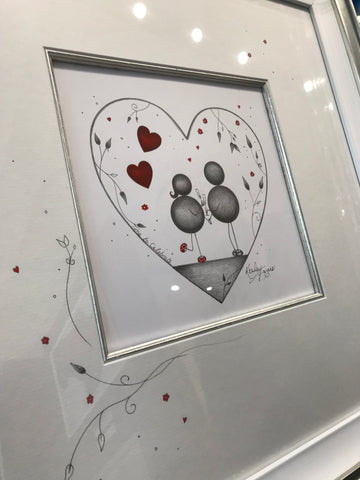 Time To Celebrate Original Sketch by Kealey Farmer *SOLD*